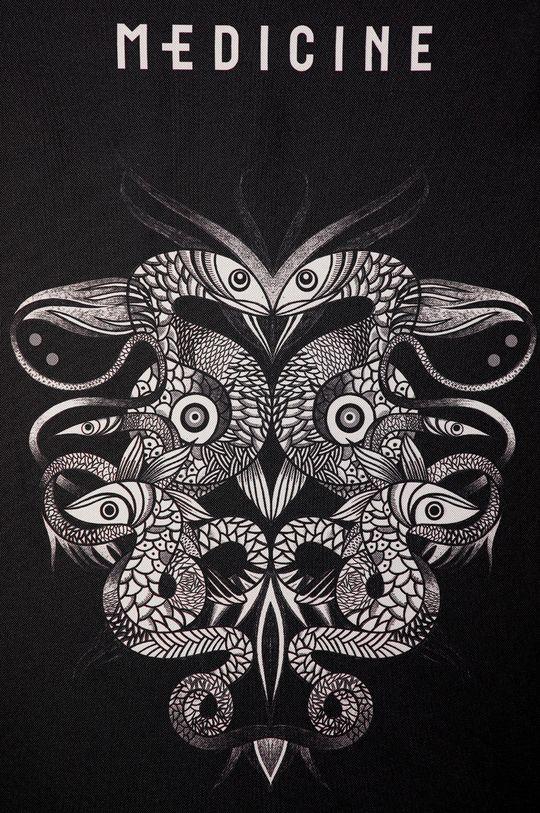 Medicine - Scaun de plaja Tattoo Konwent negru