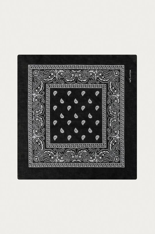 negru Medicine - Esarfa Basic De femei
