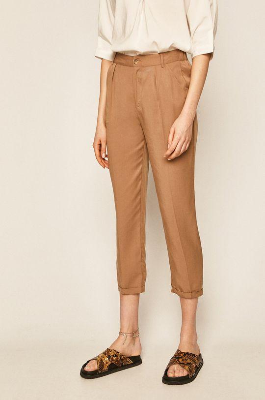 bej Medicine - Pantaloni Basic De femei