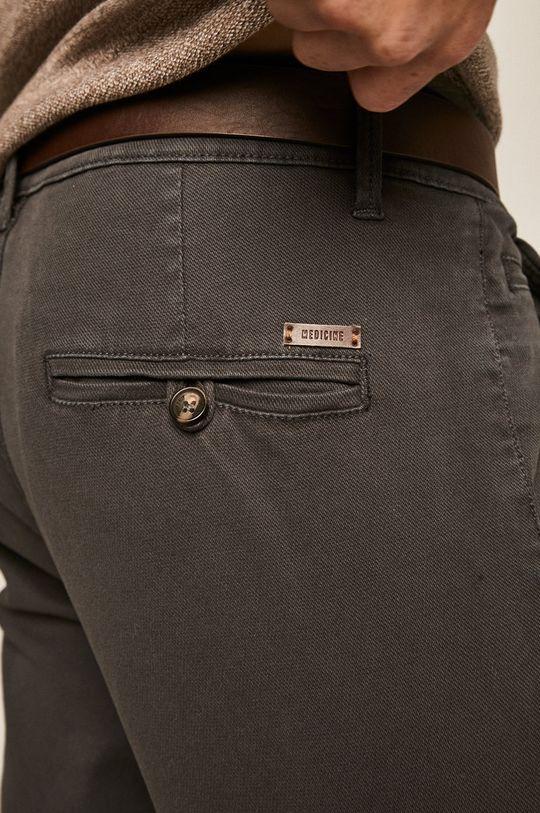 šedá Medicine - Kalhoty Basic