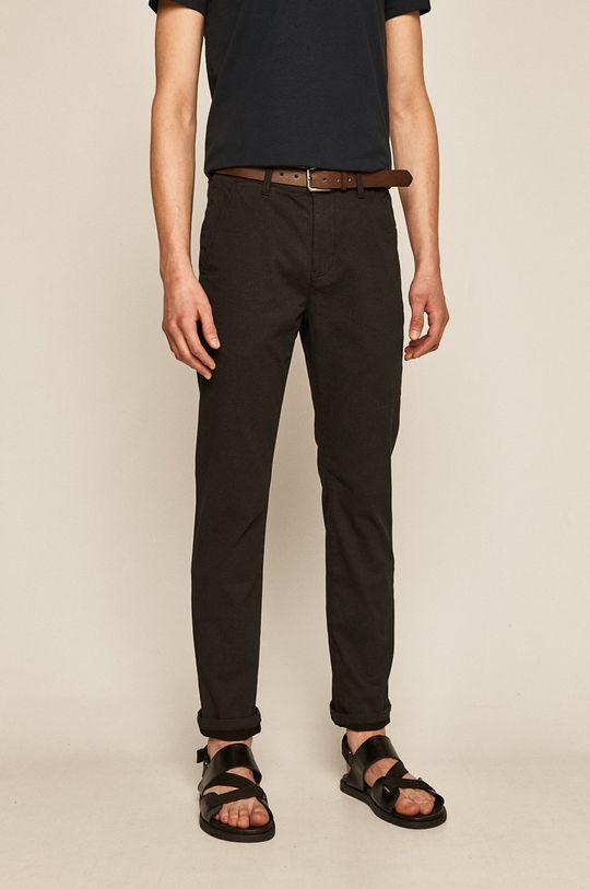 czarny Medicine - Spodnie Basic Męski