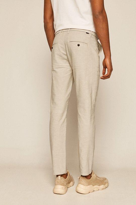Medicine - Spodnie Basic 45 % Bawełna, 55 % Len