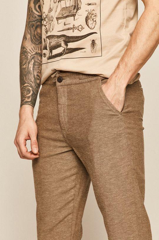 brązowy Medicine - Spodnie Basic