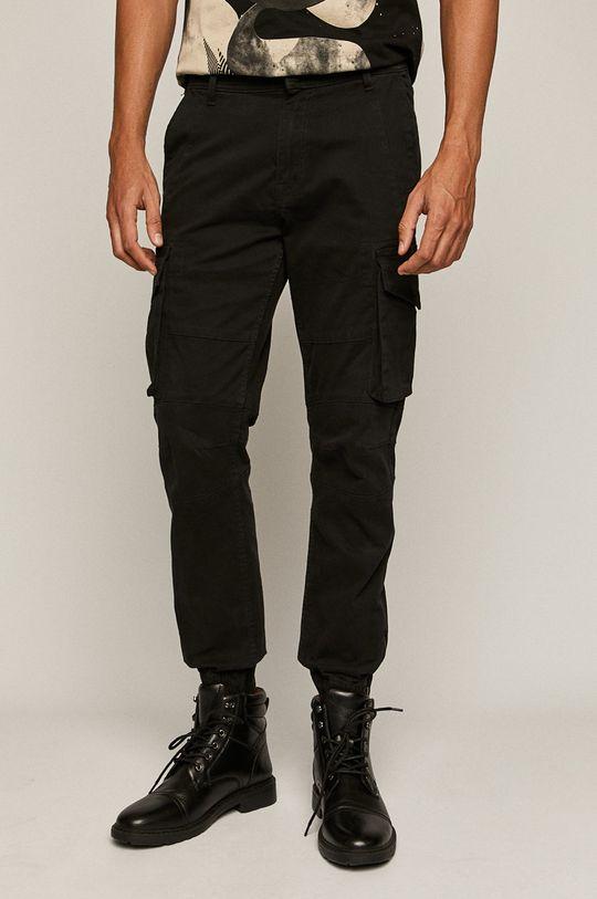 černá Medicine - Kalhoty Easy Riders Pánský