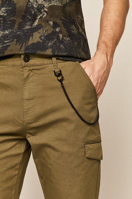 brudny zielony Medicine - Spodnie Casual Utility