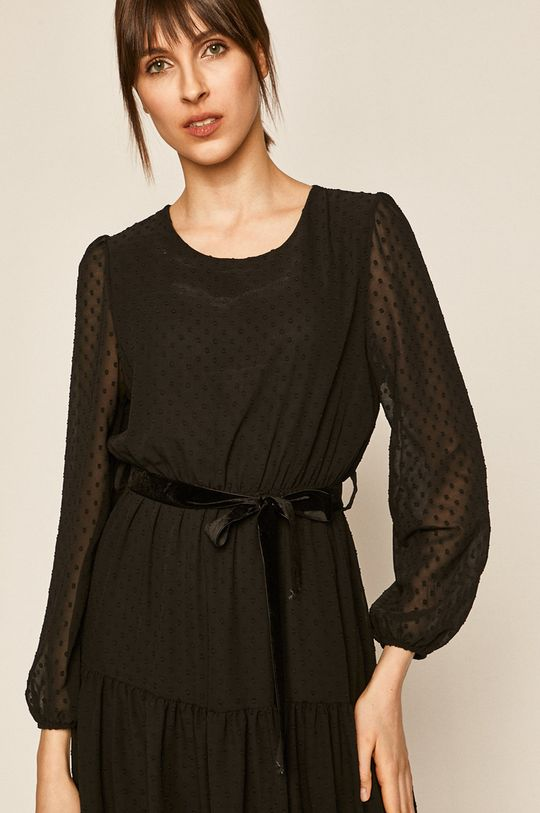 czarny Medicine - Sukienka Boho Breeze