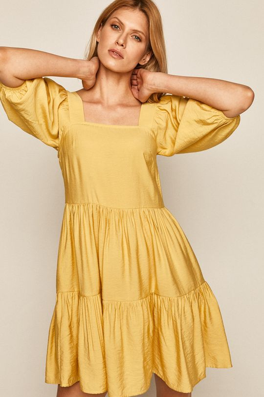 jasně žlutá Medicine - Šaty Summer Garden Dámský