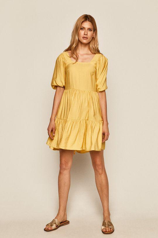 Medicine - Šaty Summer Garden jasně žlutá