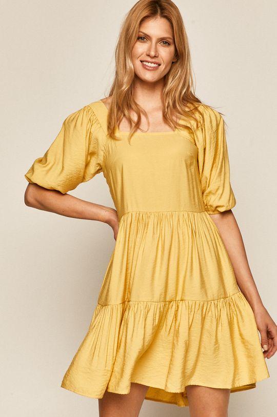 jasně žlutá Medicine - Šaty Summer Garden