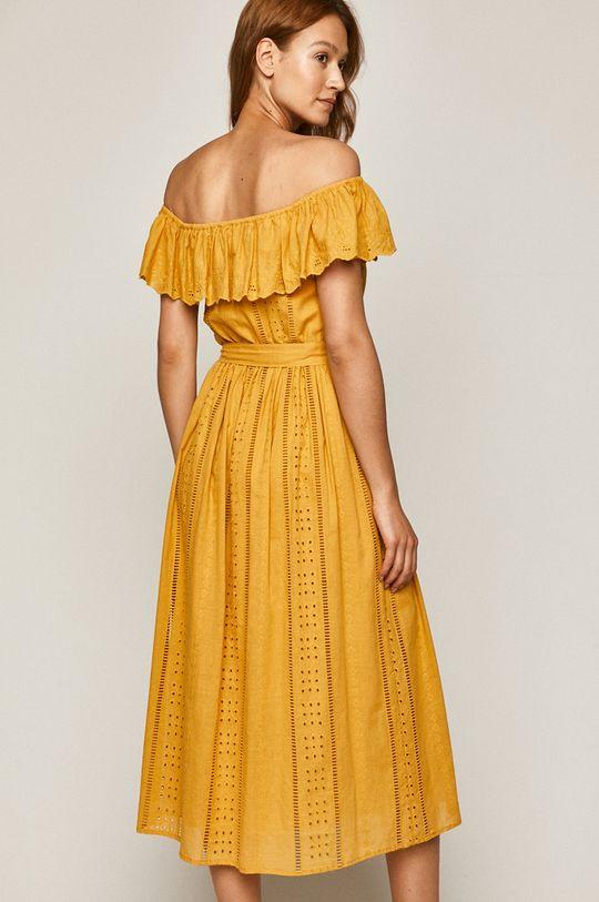 Medicine - Šaty Indo Bali žlutá