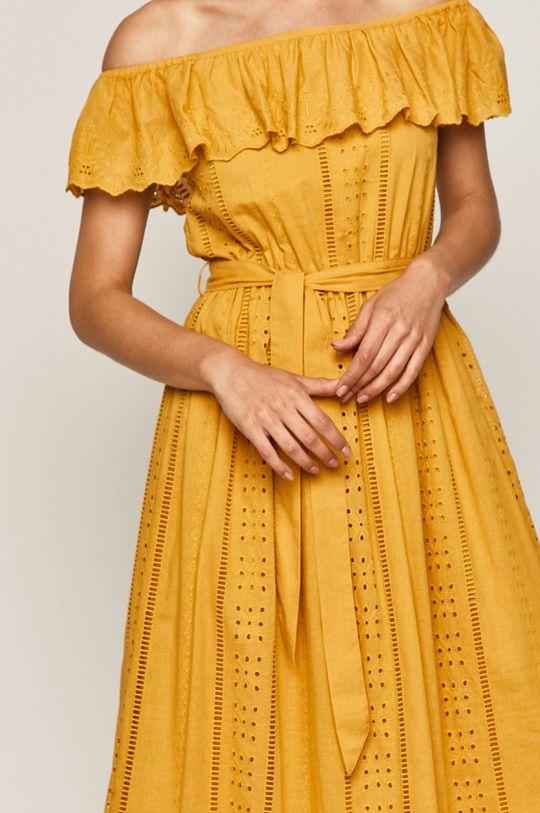 žlutá Medicine - Šaty Indo Bali