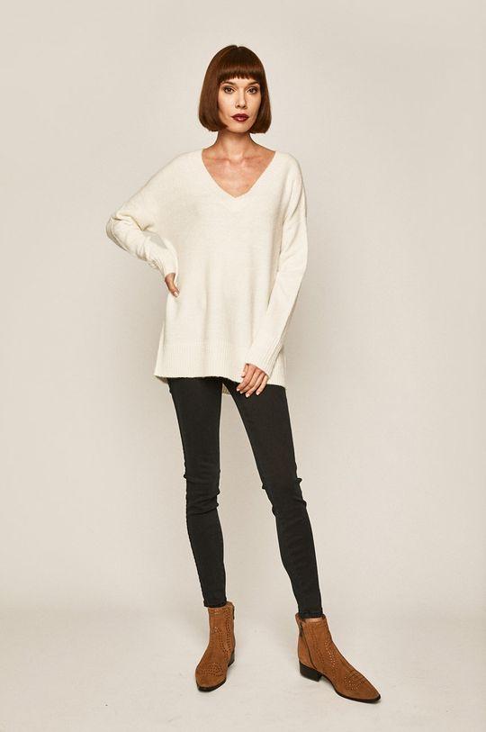 Medicine - Sweter Basic kremowy