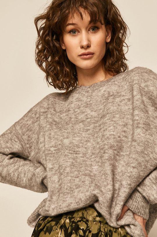 jasny szary Medicine - Sweter Basic Damski