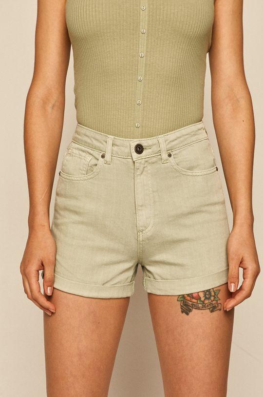 miętowy Medicine - Szorty jeansowe Soft Resort Damski