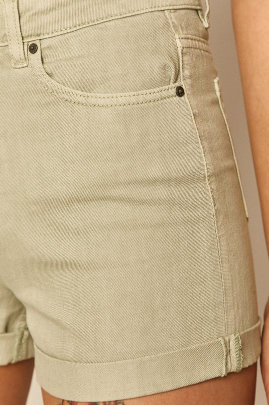 miętowy Medicine - Szorty jeansowe Soft Resort