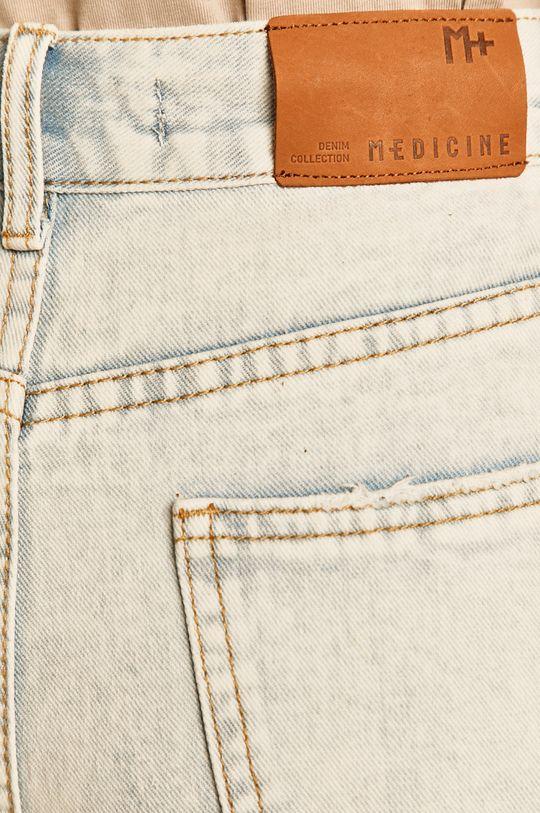 blady niebieski Medicine - Szorty jeansowe Summer Fest