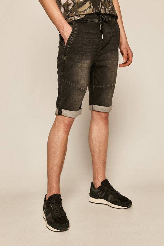 negru Medicine - Pantaloni scurti  Basic De bărbați