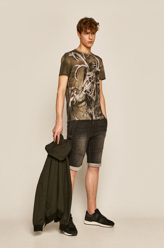 Medicine - Pantaloni scurti  Basic negru