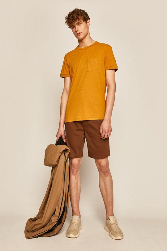 Medicine - Pantaloni scurti  Basic maro