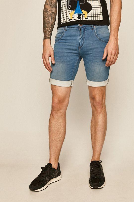 jasny niebieski Medicine - Szorty jeansowe Basic Męski
