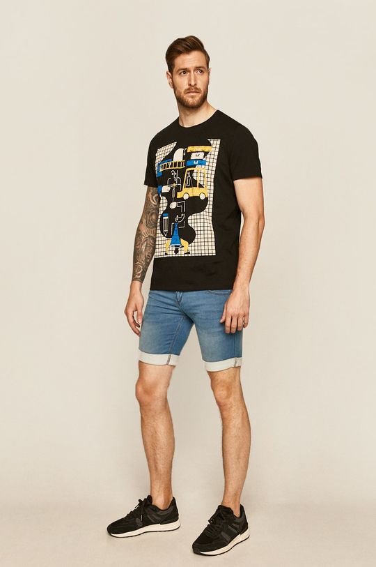 Medicine - Szorty jeansowe Basic jasny niebieski