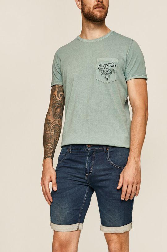 niebieski Medicine - Szorty jeansowe Basic Męski