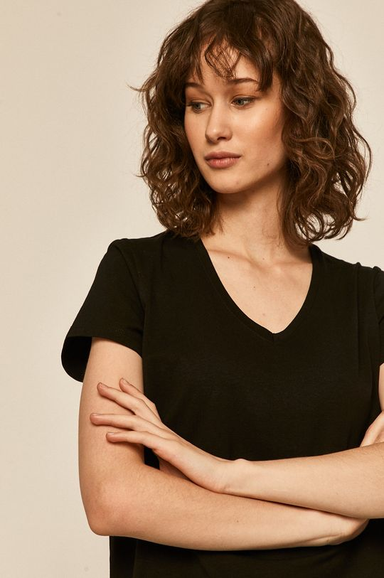 czarny Medicine - T-shirt Basic