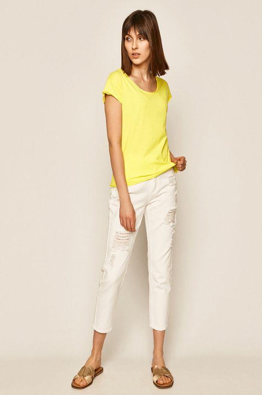 Medicine - Tričko Basic žltá