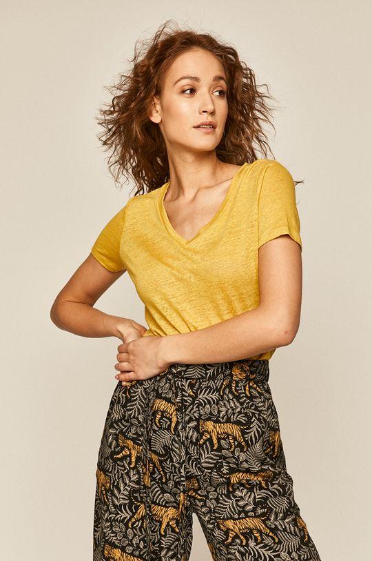 żółty Medicine - T-shirt Basic Damski