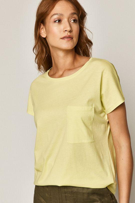 žlutě zelená Medicine - Tričko Basic Dámský