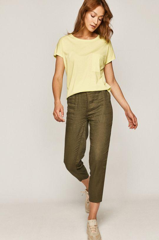 Medicine - Tričko Basic žlutě zelená