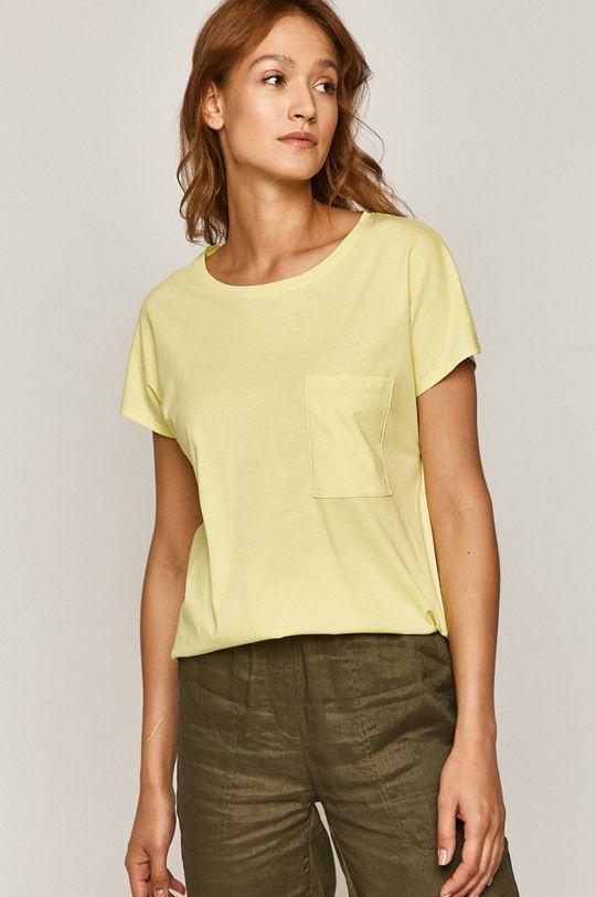 žlutě zelená Medicine - Tričko Basic