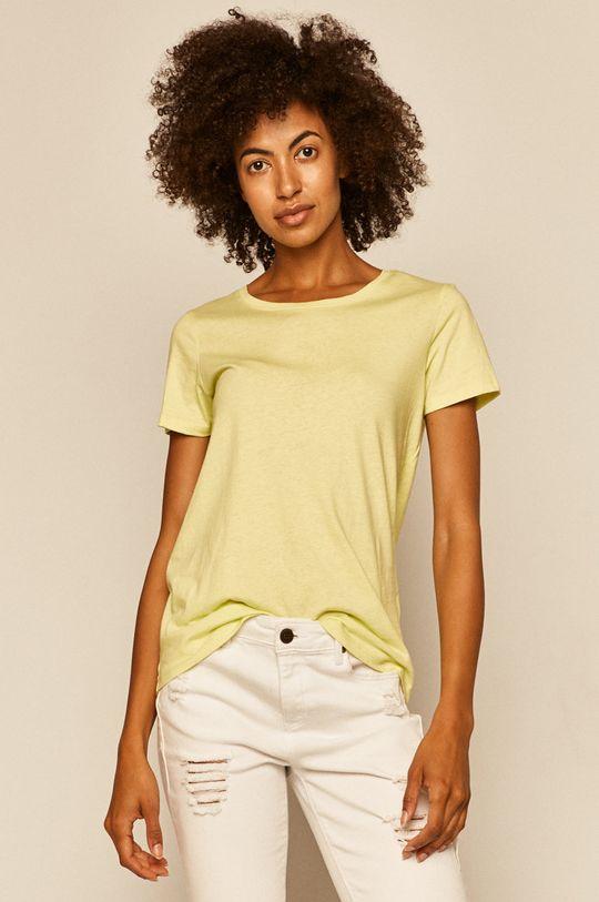 żółto - zielony Medicine - T-shirt Basic Damski