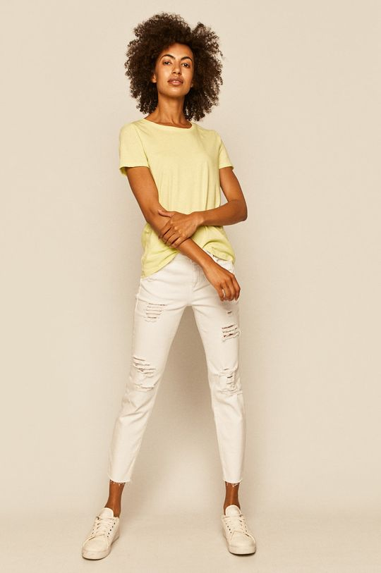 Medicine - T-shirt Basic żółto - zielony