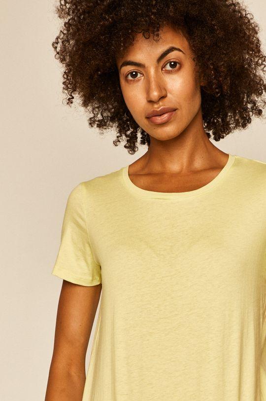 żółto - zielony Medicine - T-shirt Basic