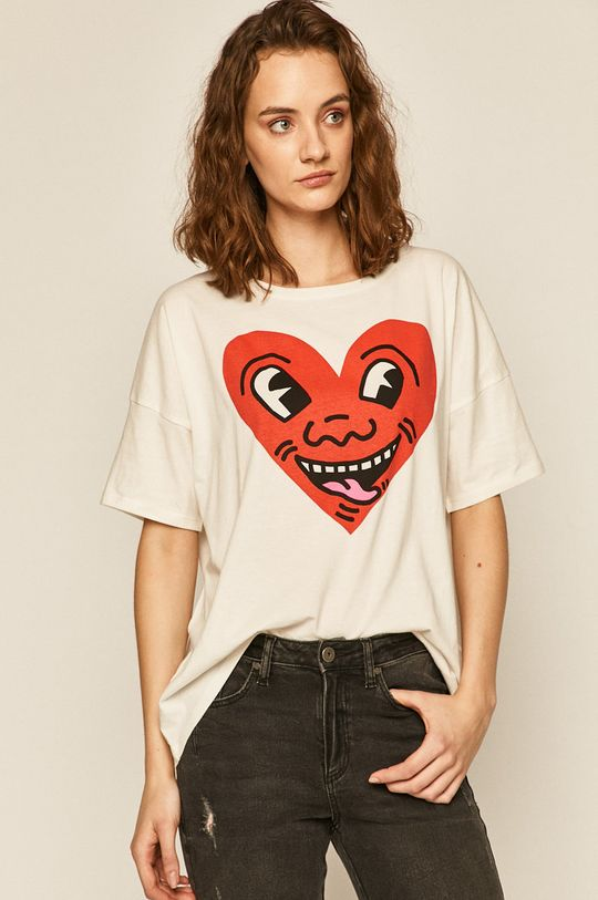 crem Medicine - Tricou by Keith Haring