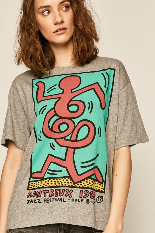 gri Medicine - Tricou by Keith Haring