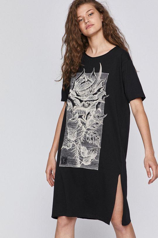 czarny Medicine - T-shirt by Fabian Staniec,Tattoo Konwent