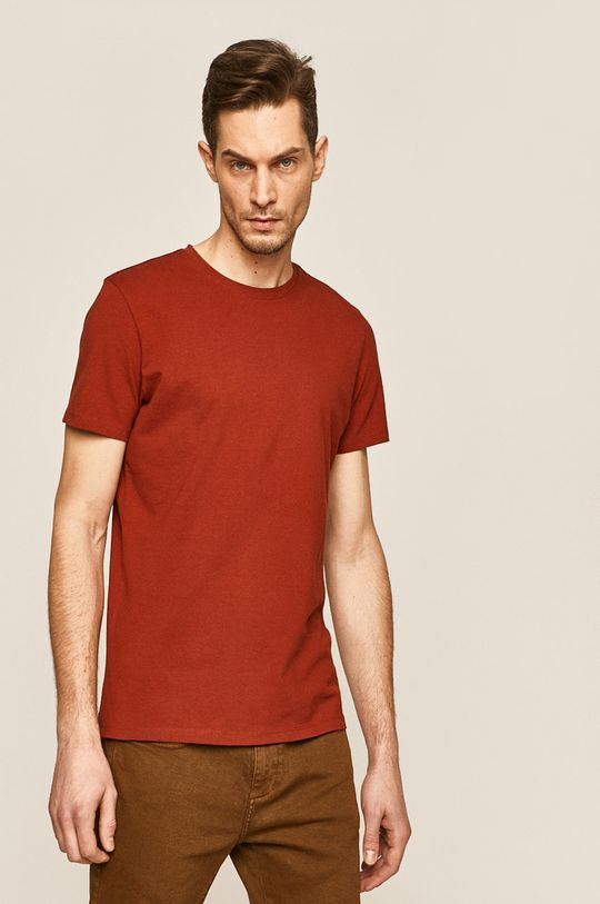 brązowy Medicine - T-shirt Basic Męski