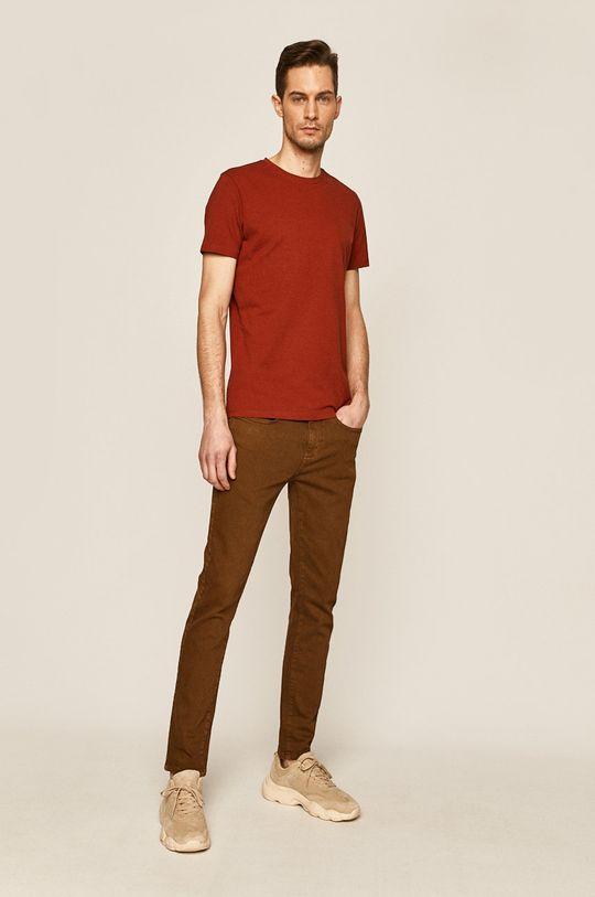 Medicine - T-shirt Basic brązowy
