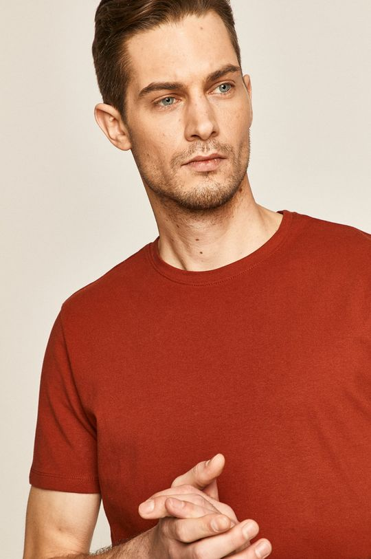 brązowy Medicine - T-shirt Basic