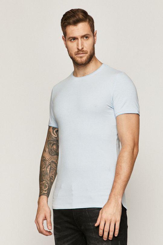 albastru pal Medicine - Tricou Basic De bărbați