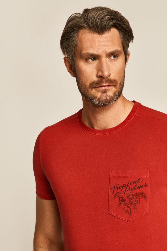 červená Medicine - Tričko Basic Pánský