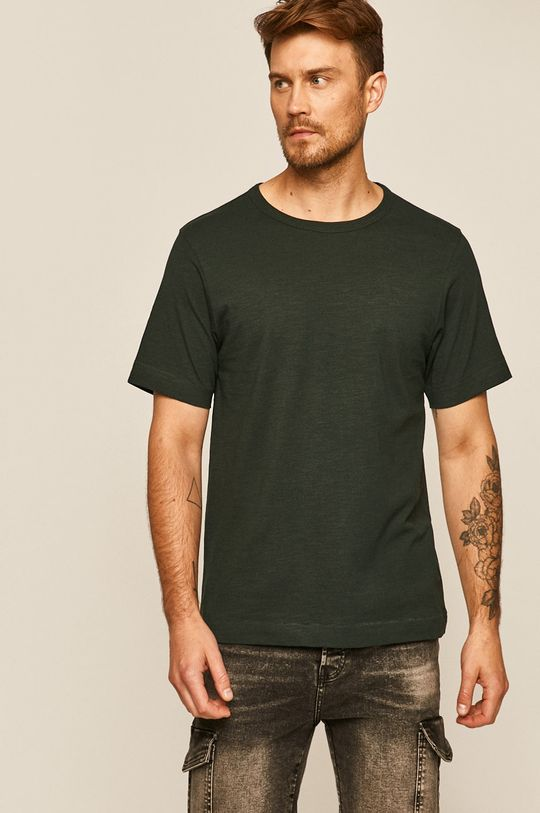 Medicine - Tričko Basic tmavě zelená