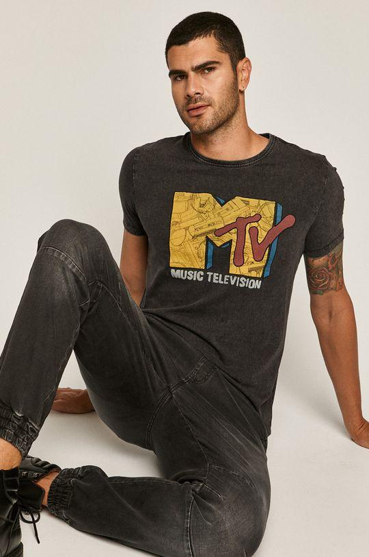 negru Medicine - Tricou Licence Mix De bărbați
