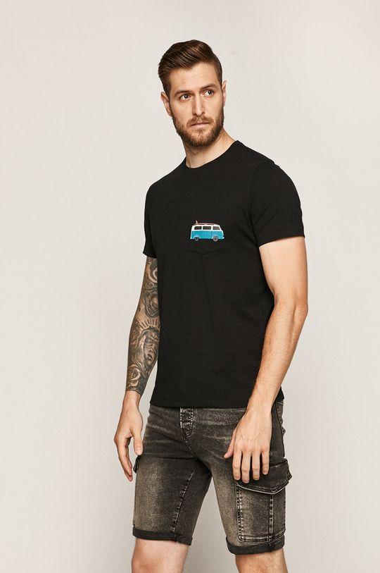 czarny Medicine - T-shirt Retro Holidays