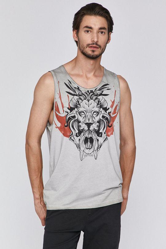 jasny szary Medicine - T-shirt by Michał Borysz, Tattoo Konwent
