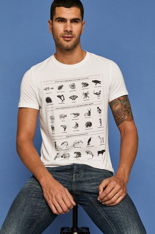 fehér Medicine - T-shirt by Kasia Walentynowicz i Zagrywki Férfi