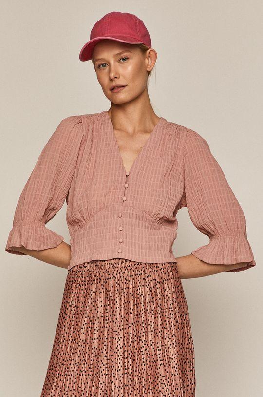 pastelová ružová Medicine - Blúzka Summer Linen Dámsky