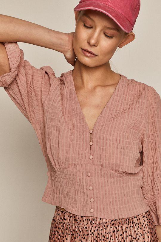 pastelová ružová Medicine - Blúzka Summer Linen
